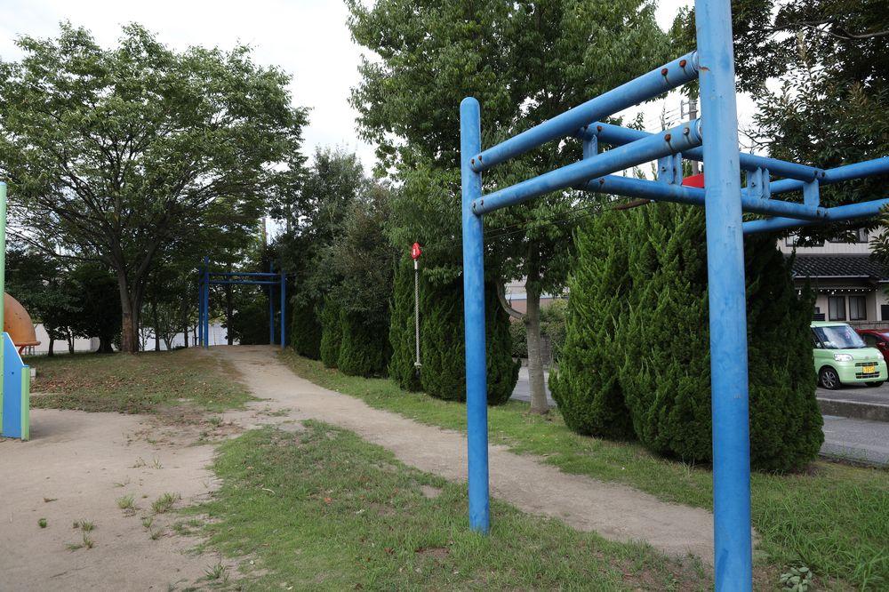 となみ公園ポータル 太郎丸ウエストパーク ターザンロープ