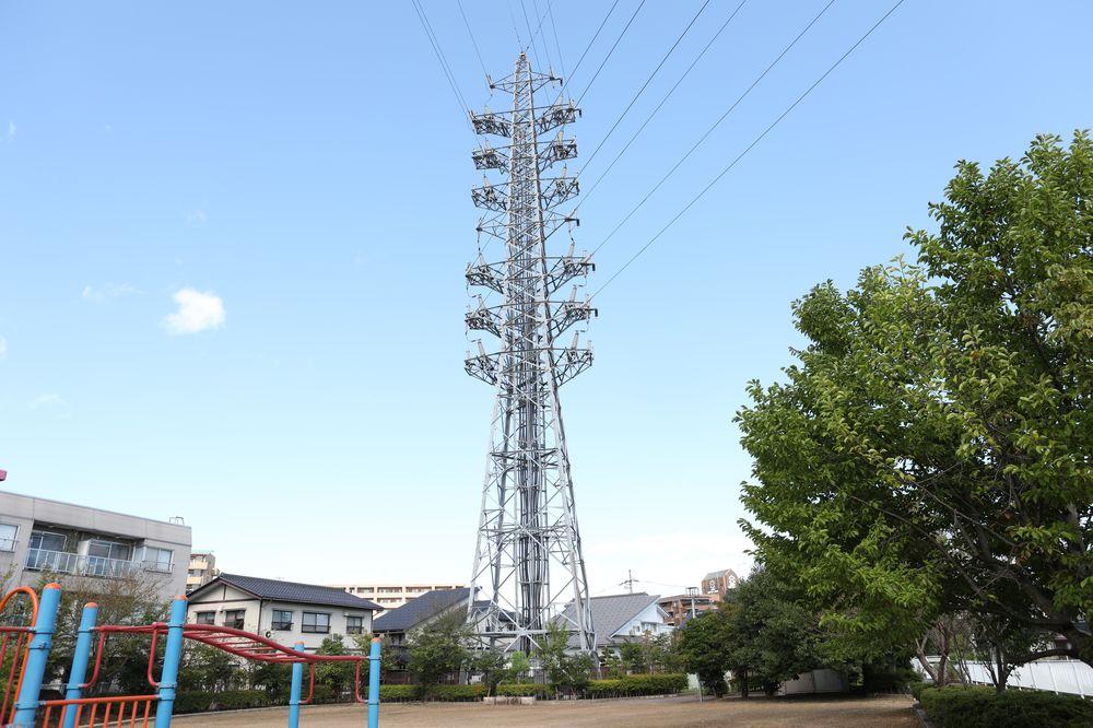 となみ公園ポータル さんの川公園 鉄塔